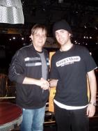 with Keith Carlock 2007